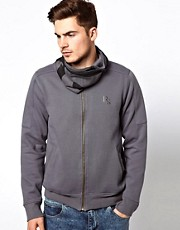 Ringspun Zip Through Sweatshirt