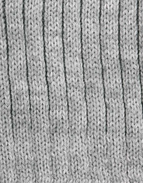 Image 3 ofASOS Short Rib Knit Beanie