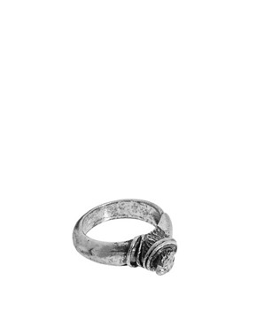 Image 1 ofASOS Shark tooth Ring