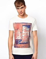 Jack &amp; Jones T-Shirt with Vintage Print
