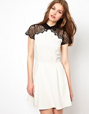 A Wear Lace Detail Dress