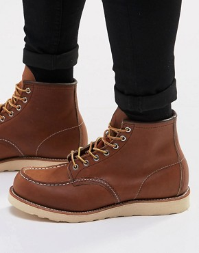 Red Wing 6-Inch Moc Leather Boots