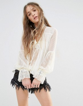 Free People Far Away Top