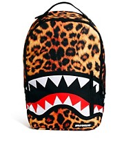 Sprayground - Zaino maculato con squalo