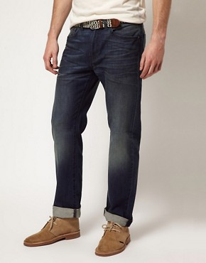Image 1 ofLevis Jeans 505 Regular Tapered Jeans