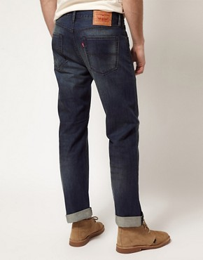 Image 2 ofLevis Jeans 505 Regular Tapered Jeans