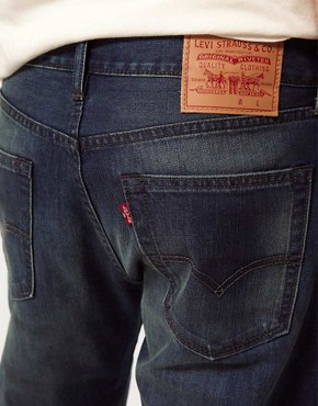 Image 4 ofLevis Jeans 505 Regular Tapered Jeans