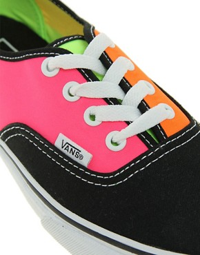 Image 2 ofVans Tri Tone Lace Up Trainers