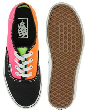 Image 3 ofVans Tri Tone Lace Up Trainers