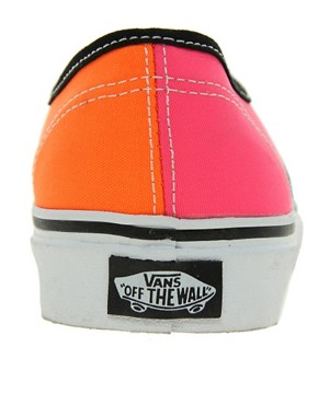Image 4 ofVans Tri Tone Lace Up Trainers