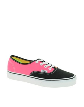 Image 1 ofVans Tri Tone Lace Up Trainers