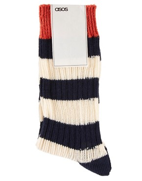 Image 3 ofASOS Rugby Stripe Socks