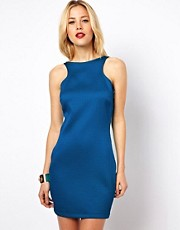 Mango Miranda Textured Bodycon Dress