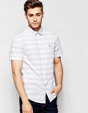 Original Penguin Short Sleeve Printed Shirt