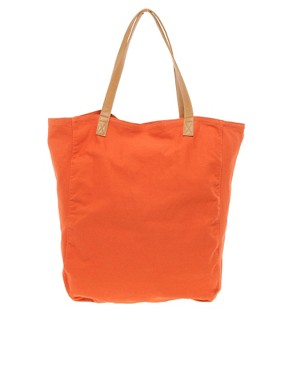 Image 1 ofRiver Island Canvas Shopper