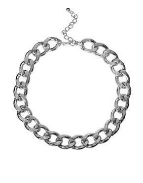 Image 2 ofASOS Curb Chain Necklace and Bracelet Pack