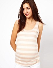 New Look Maternity 2 Stripe Vest