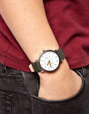 Ted Baker Leather Strap Watch TE1093