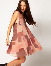 One Teaspoon Wasteland Printed Dress