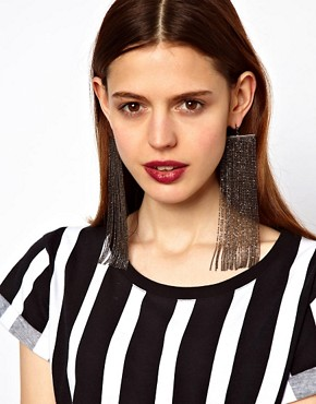 Image 2 ofLimited Edition Ball Chain Duster Earrings