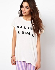Camiseta Malibu Local de Wildfox
