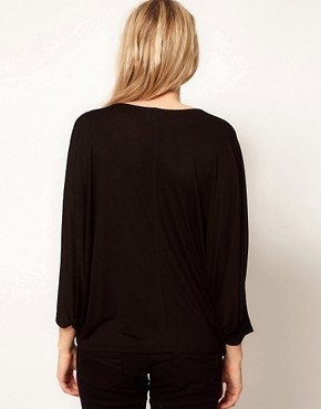 Image 2 ofASOS Maternity Exclusive Top with Volume Sleeve