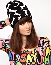 Lazy Oaf Bones Beanie Hat
