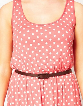 Image 3 ofASOS CURVE Exclusive Dress In Spot Print