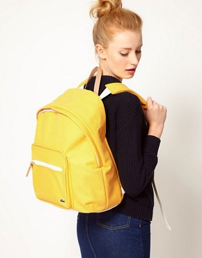 Image 3 ofLacoste Live Canvas Backpack