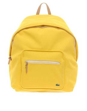 Image 1 ofLacoste Live Canvas Backpack