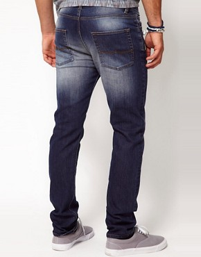 Image 2 of ASOS Skinny Jeans in Blue