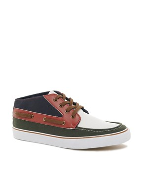 Image 1 ofASOS Chukka Boots in Tri-Colour