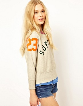 Image 1 ofSuperdry Crew Neck Sweatshirt