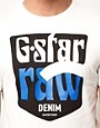 Image 3 ofG Star Sendai Vintage Logo T-Shirt