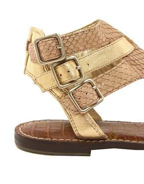 Image 4 ofSam Edelman Grenna Triple Buckle Flat Sandal