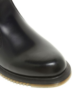 Image 2 ofDr Martens Kensington Flora Black Chelsea Boots