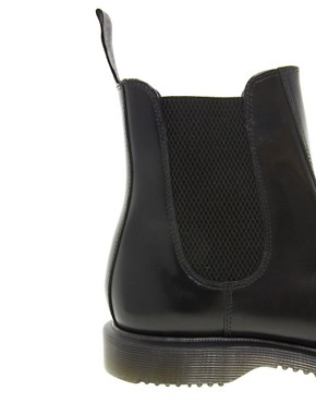 Image 4 ofDr Martens Kensington Flora Black Chelsea Boots