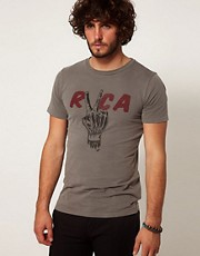 RVCA T-Shirt Anp George Thompson Hand Study