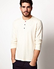 Pepe Jeans Long Sleeve Top Slim Fit Grandad
