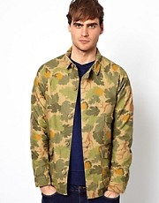 Native Youth Camo Overshirt