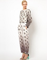 Louise Amstrup Trousers in All Over Print