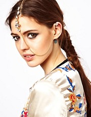 ASOS Petal Tikka &amp; Ear Cuff