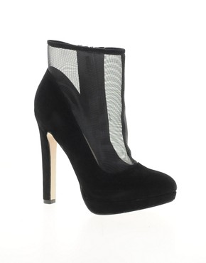 Image 1 ofMiss KG Florrie Mesh Platform Ankle Boots