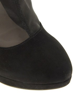 Image 3 ofMiss KG Florrie Mesh Platform Ankle Boots