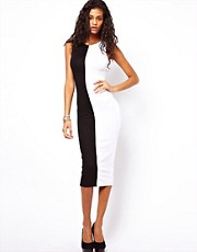 ASOS Bodycon Dress With Mono Panels