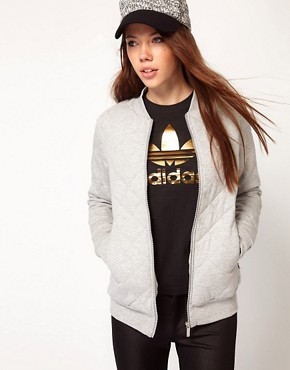 Image 1 ofAdidas Quilted Track Top