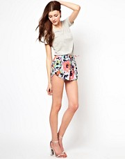 Vero Moda Floral Track Shorts