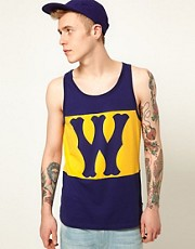 WESC Vest Franchise W Logo
