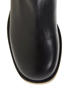 Image 3 ofASOS CLOUD Knee High Leather Boots