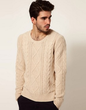 Image 1 ofDrykorn Jumper with Cable Scoop Neck